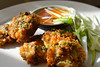 Handmade Sweetcorn Fritters with Sweet Chilli Dip