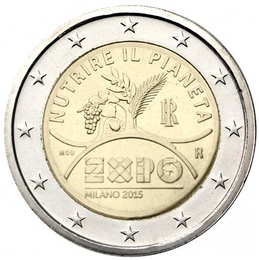 2 Euro Taliansko 2015, Expo