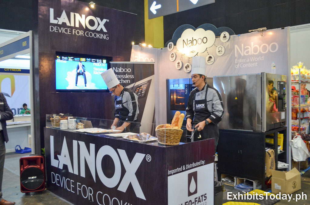Free Culinary Demo at Lainox Exhibit Booth