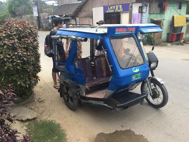 Trike in Boracay