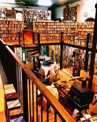 Old book shop, mezzanine level- Inverness