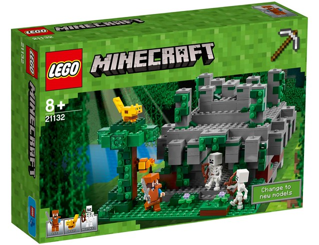 LEGO Minecraft 21132 - Jungle Temple - a photo on Flickriver