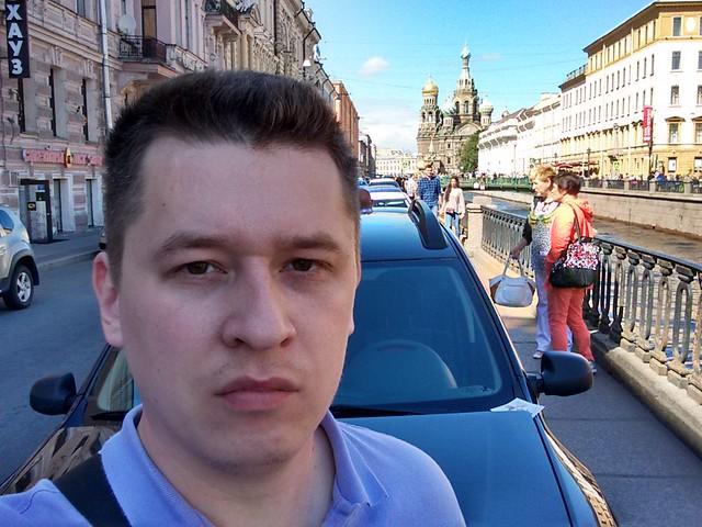 Снимок с фронтальной камеры Motorola Moto G 2nd gen