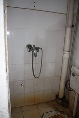 floor, room, plumbing fixture, shower, tile, bathroom,