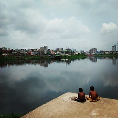 #children by the #lake #street #childhood
