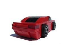 Mustang-esque 4-wide (rear)