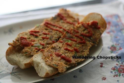 Singaporean Roti John with Sardines 1