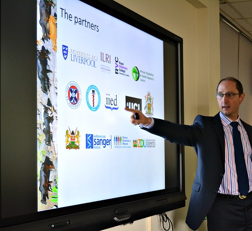 Eric Fevre gives an overview of his UK-Kenya livestock and human health projects