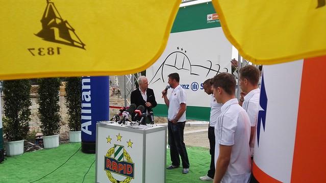 Trainer Zoran Barisic im Interview