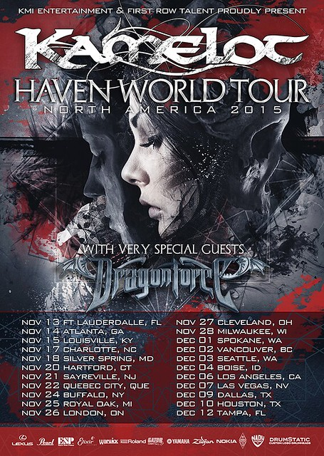 Kamelot at the Fillmore Silver Spring