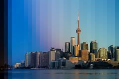 Time Slice 01 - Toronto Skyline At Dawn