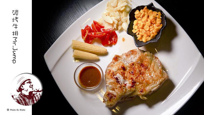 美國大雞腿排-中永和寵物餐廳-Mr.Jump 美式碳烤牛排