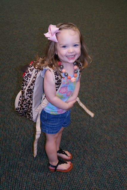 Emma's First Day of School (2 of 11)