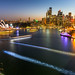 Sydney harbour night game by Loïc Lagarde
