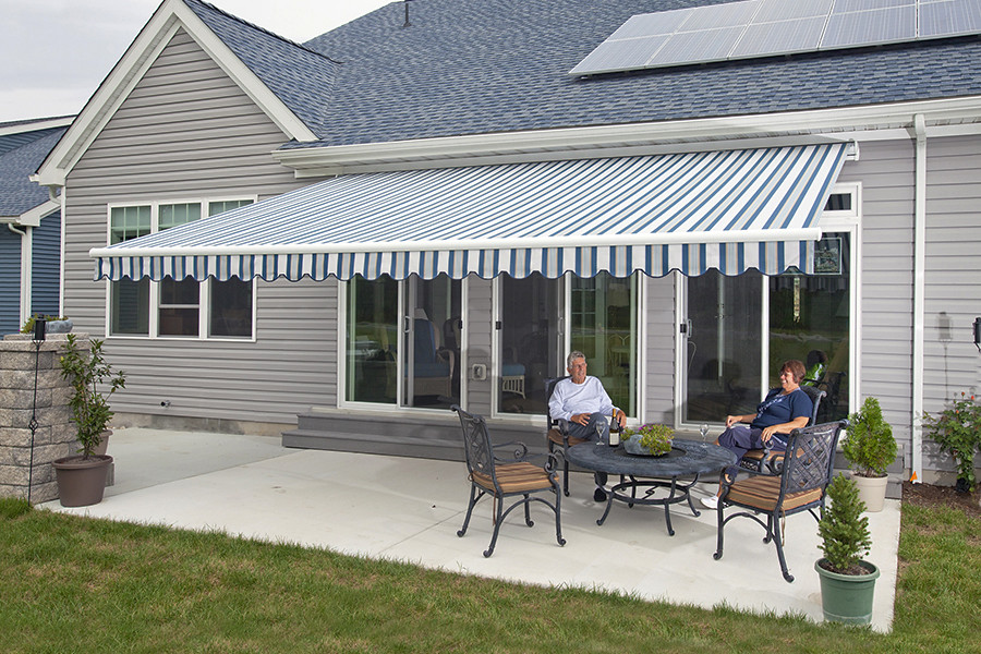 ... Motorized Retractable Electric Awnings Florida Motorized Retractable  Electric Screens ...