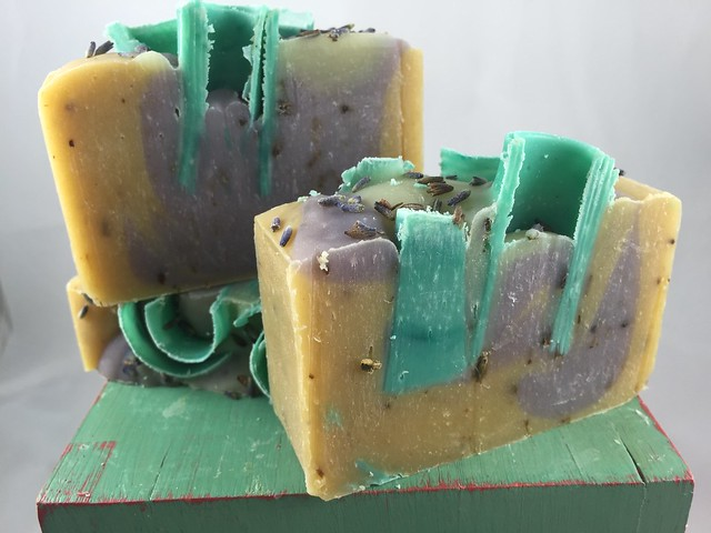 Lavender Chamomile soap by The Daily Scrub