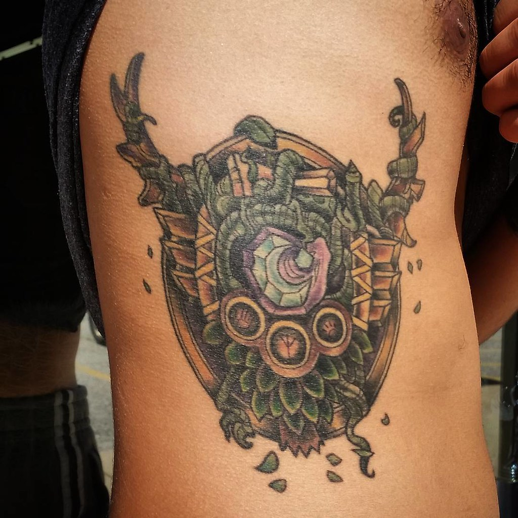 Healed Wow Worldofwarcraft Druid Tattoo Ian Efrom Flickr