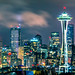 Seattle Skyline by Nik Coli-