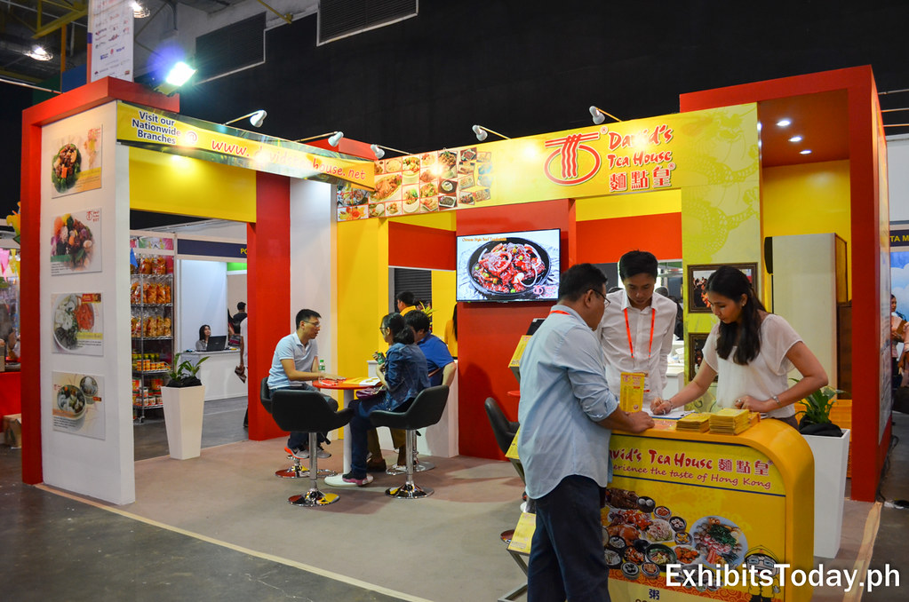 David's Tea House Exhibit Stand (guest area)