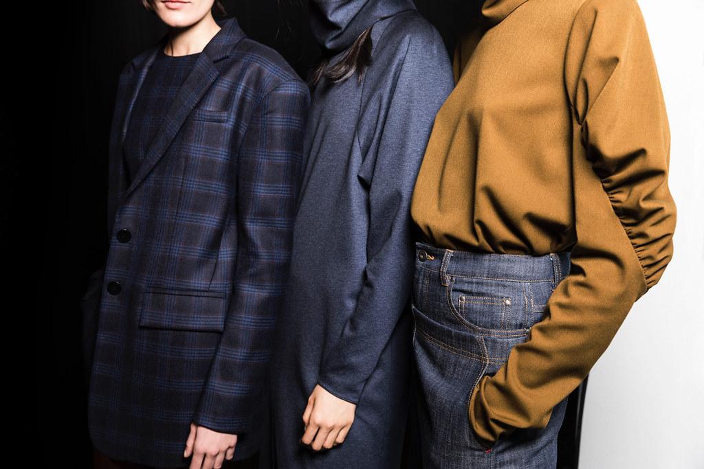 Aveda Tibi Backstage Fall Winter 2017 Collections New York Fashion Week