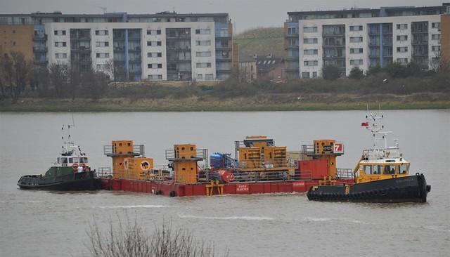 SWS Breda + Horton + Haven Seaseven (1) @ Gallions Reach 12-01-17