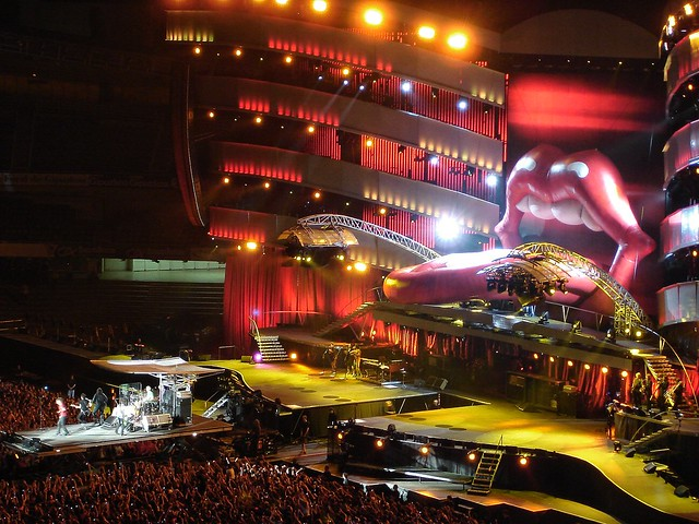 Rolling Stones en Donostia - San Sebastián. Gran concierto.