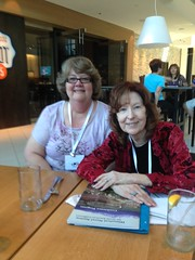 with Sharon Kay Penman