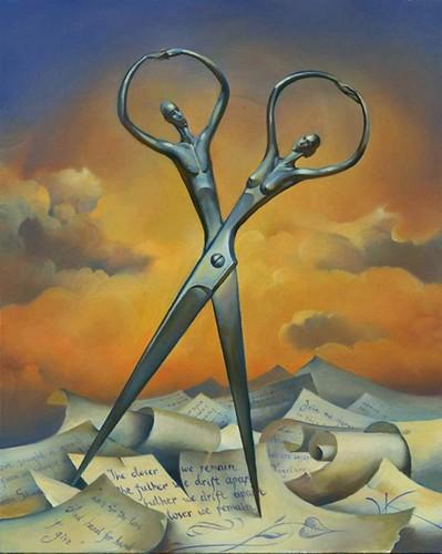 Vladimir Kush - Scissors
