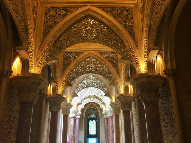 Interior del Palacio de Monserrate (Sintra, Portugal)