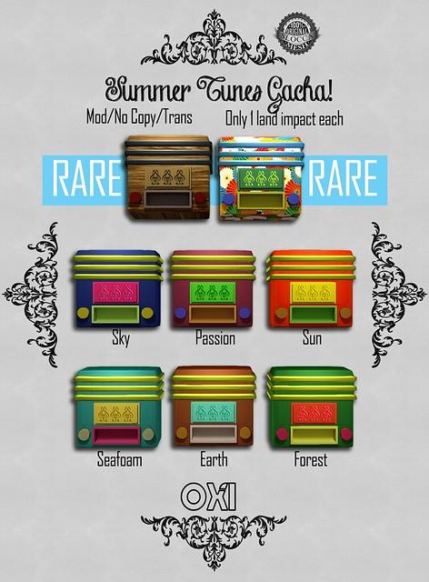 Summer Tunes - OMGacha Summer 2015