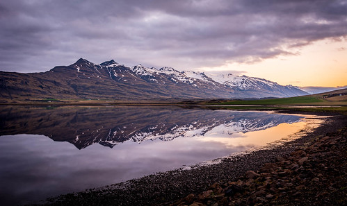 d7100 iceland nikon clouds landscape midnightsun mountains photography reflection rocks snow sunset water east is