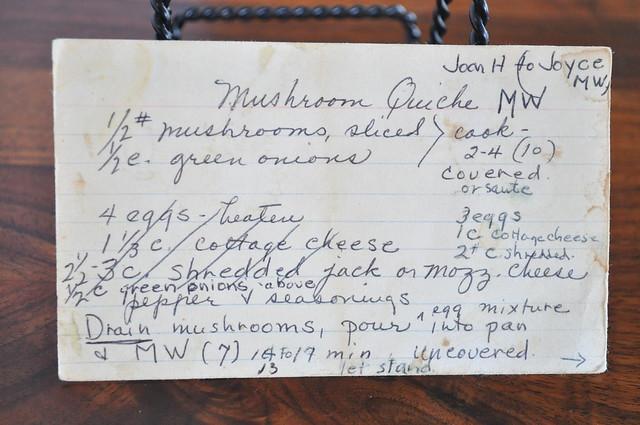 Graveyard Bound - Mushroom Quiche MW