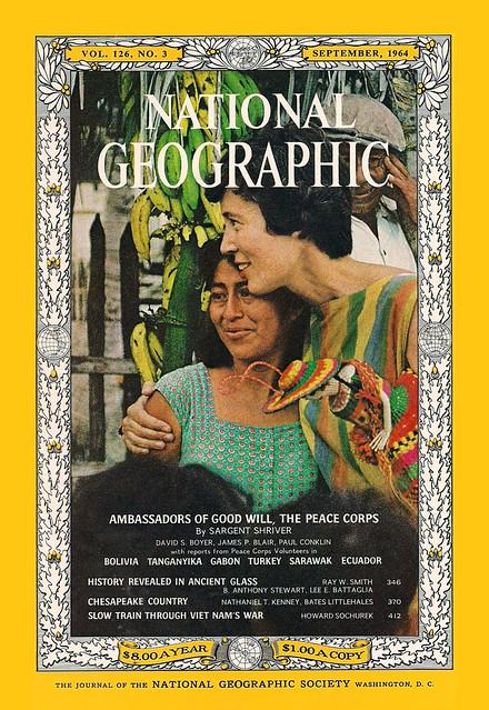 National Geographic - September 1964 - Slow Train Through Vietnam's War