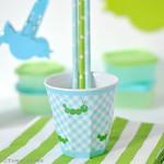 Caterpillar cup