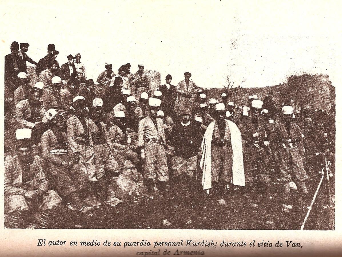 Nogales y su guardia turca durante el sitio de van