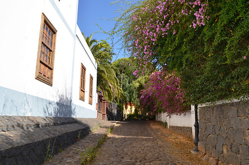 Old street, Tegueste, Tenerife