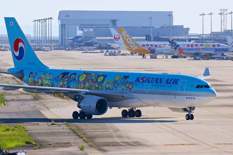 HL8212 大韓航空 A330-200