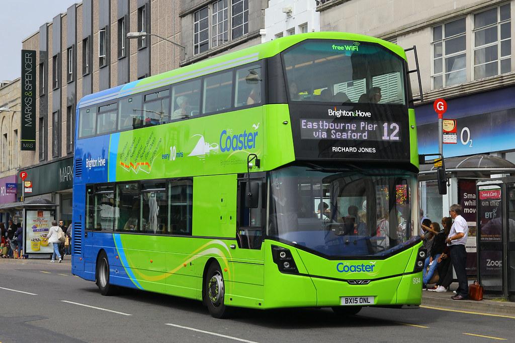 BX15 ONL, Western Road, Brighton, August 6th 2015