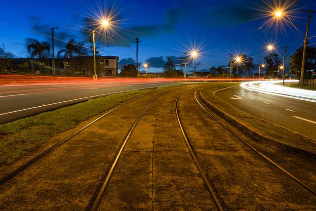 Tram Tracks, Carina, Brisbane