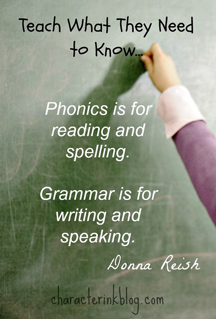 Phonics and Grammar