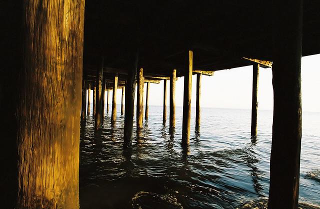 Under pier explore neuro rob 39 s photos on flickr neuro for Buckroe beach fishing pier