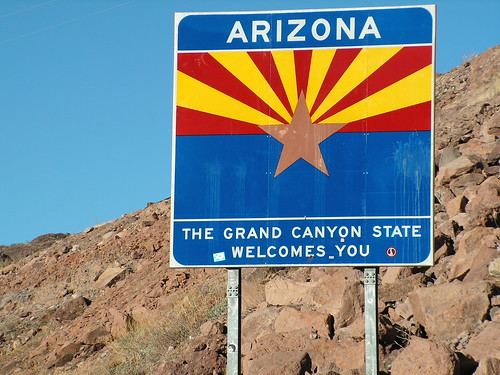 welcome to the state of arizona