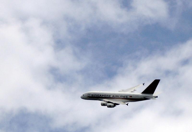 Singapore Airlines Airbus 380