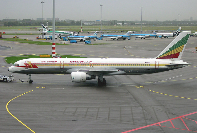 Ethiopian Airlines 757-200   Flickr - Photo Sharing!