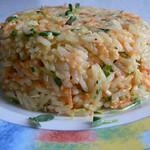Reissalat mit Bockshornkleegrün