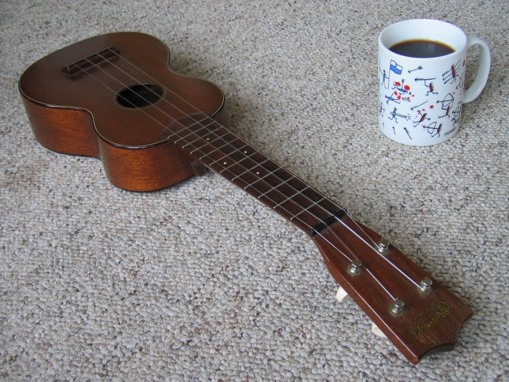 Coffee and Ukulele
