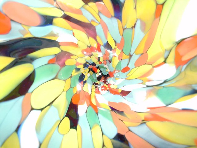 Bohemian glass close up, Sony DSC-U30