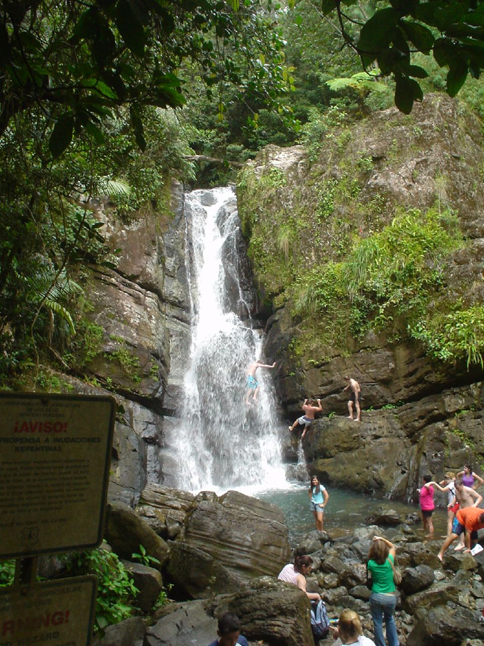 La Mina Waterfall