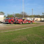 Wilmer Fire trucks