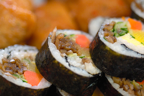 Kimbap in a Row